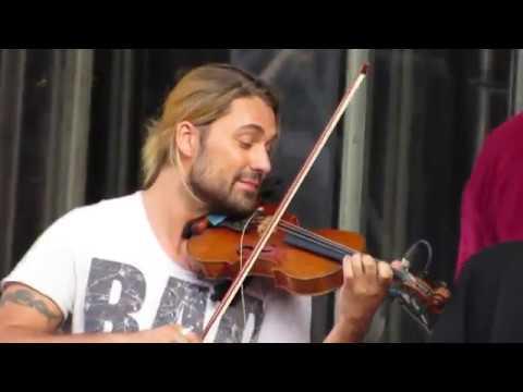 Davdi Garrett- Rehearsal Czárdás (Vitoro Monti ) Milano 30. 05 .2015