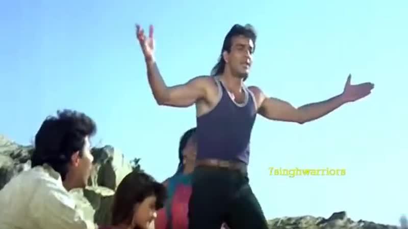 Tak Dhin Dhin Tak सड़क Sadak 1991 Sanjay Dutt H Q 7sw