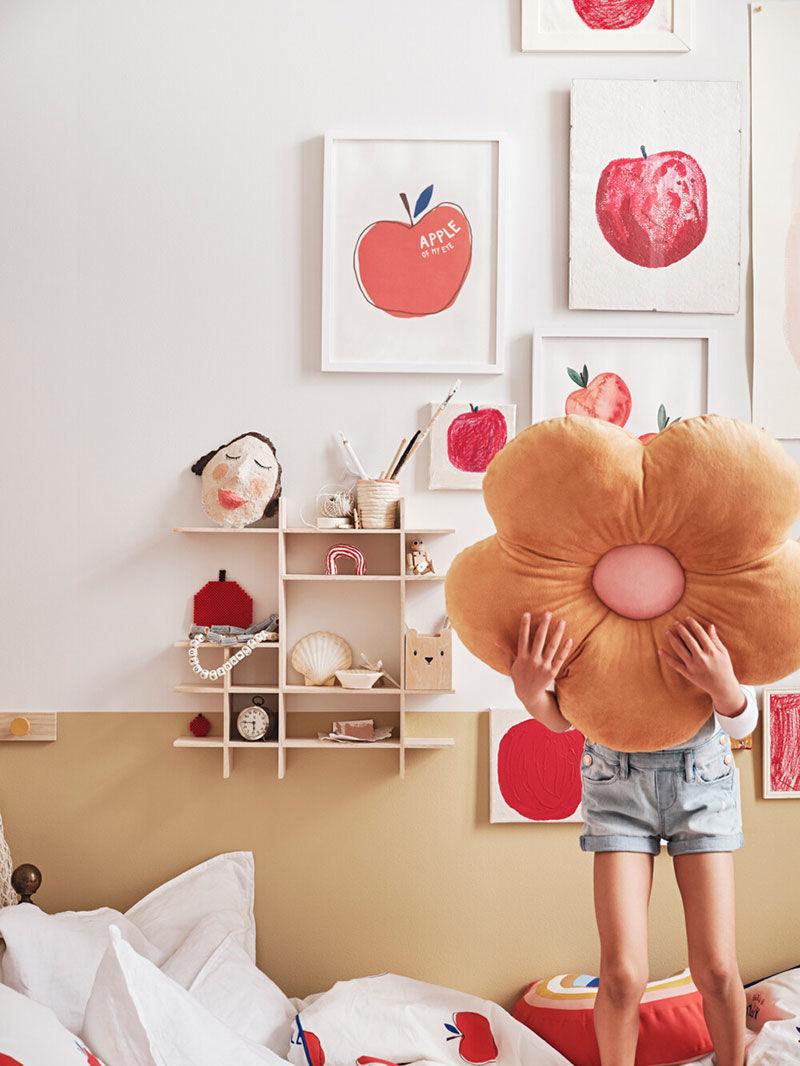 Новые замечательные вдохновения для детских интерьеров от HM Home || 01