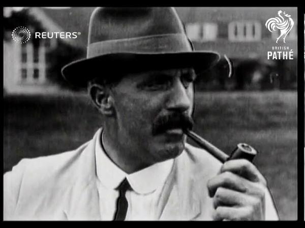 Edward Ray wins American Open Championship 1920