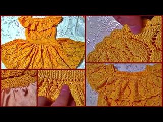 ГОТОВОЕ ПЛАТЬЕ. ЧУДЕСНОЕ! Вязаное платье для девочки1WONDERFUL! Knitted dress for girls