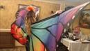 Butterfly Oriental Belly Dance Show Camila Dance Show