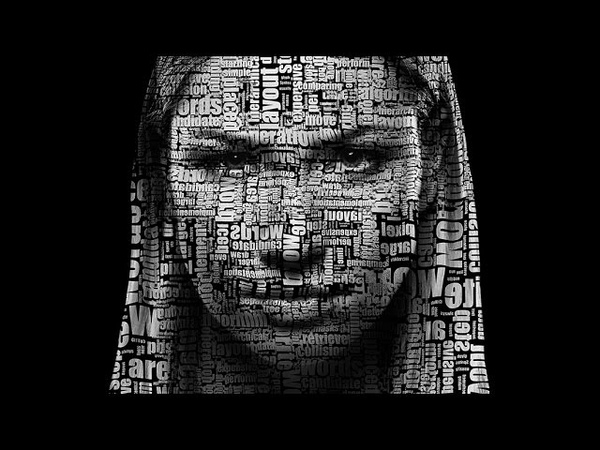 How To Create an Interesting Portrait From a Letters, Flowers, Symbols etc...| Photoshop tutorial
