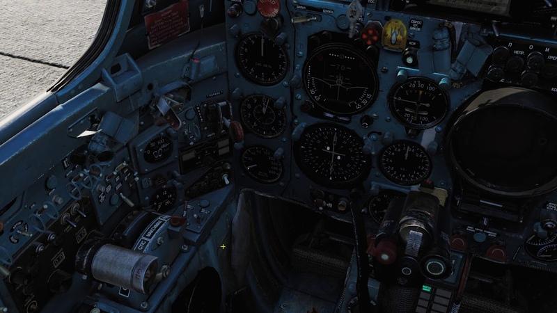Запуск самолёта из кабины МиГ 21 Авиасимулятор DCS