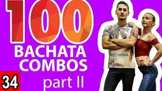 Bachata Tutorial 34: 25-50 Combos - 10k Subscribers Thank You Part 2 | Marius&Elena