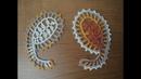Ажурные пейсли турецкий огурец крючком по схеме. Ирландское кружево.Turkish cucumber. Irish lace