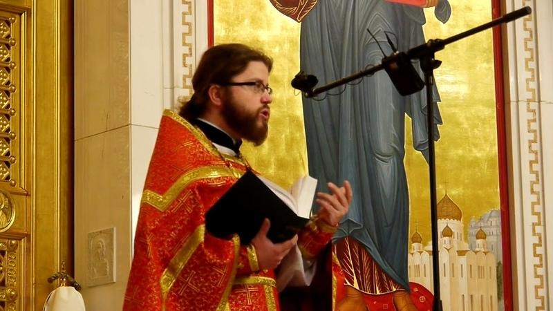 Проповедь о. Михаила Собачинского в неделю 6-ю по Пасхе (24.05.20)