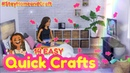 DIY - How to Make: 14 EASY Quick Crafts | Nintento Switch | Snacks | Candy PLUS Toya's Room
