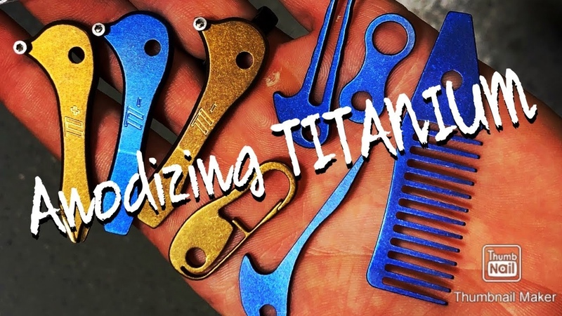 How To Color Anodize Titanium