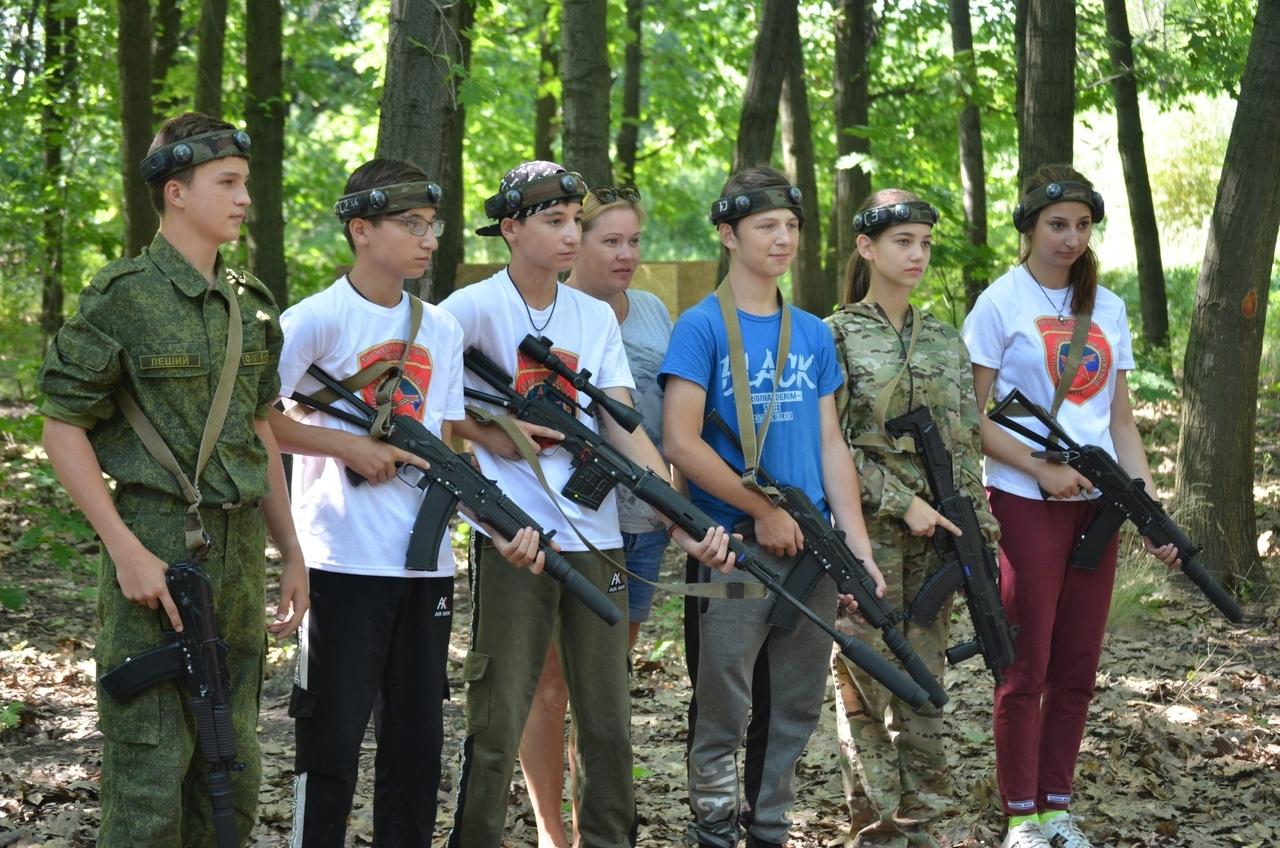 В Донецке состоялся городской отборочный этап открытого первенства Донецкой Народной Республики по внеаренному лазертагу
