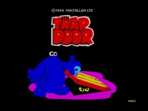 The Trap Door 128k 2020 Edition Walkthrough Super Berk ZX Spectrum