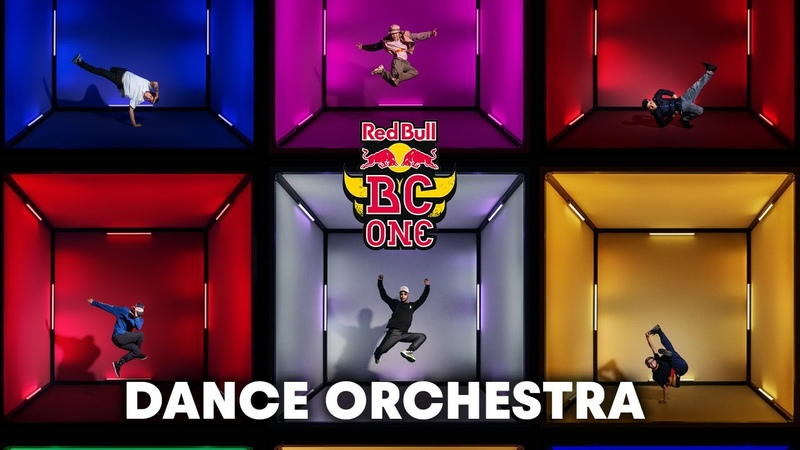 Red Bull Dancers and DJ Fleg Create a Dance Orchestra Red Bull BC One
