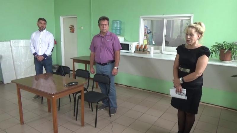 Николай Платошкин на встрече с работниками предприятия пищевой промышленности
