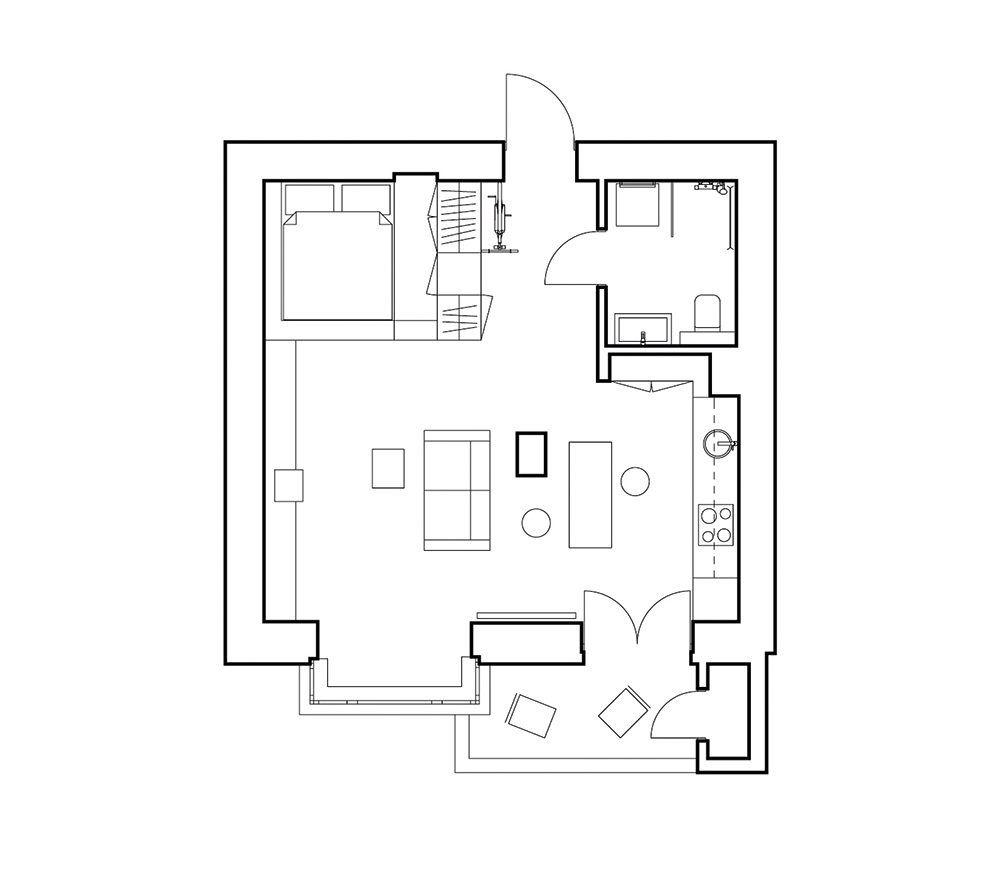 Квартира во Львове от студии Hrystia Koliasa Architecture