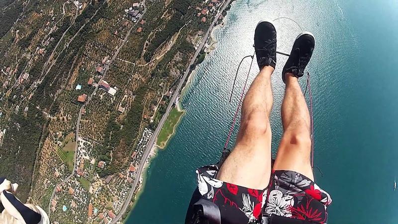 GoPro Paragliding Monte Baldo Lago di Garda