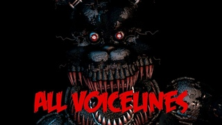 Nightmare | All Voicelines with Subtitles | Ultimate Custom Night