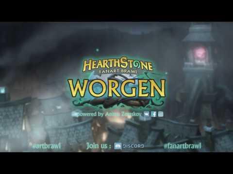 FanArt Brawl Worgen