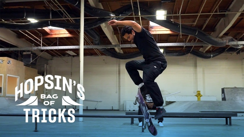 Hopsin Learns a Front Side Flip the Paul Rodriguez Way