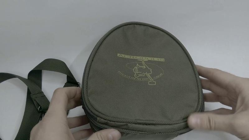 Отличный выбор Чехол-сумка жесткий для катушки со шпулей Acropolis до 5000