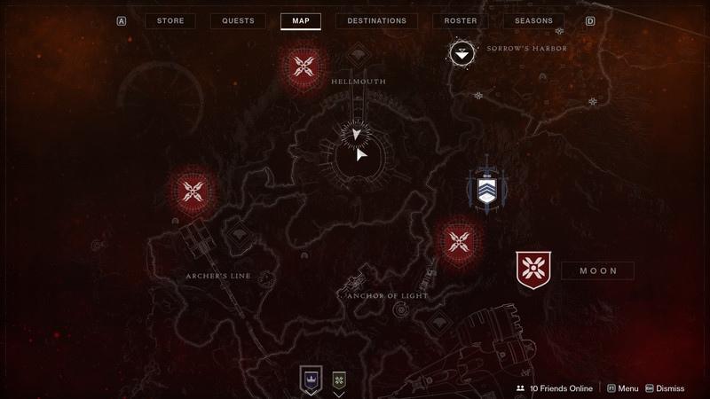 """Destiny 2 локация """"адская пасть"""""""