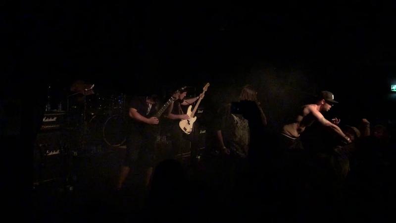 Waking the Cadaver - Blood Splattered Satisfaction Live at Baroeg Rotterdam 18.08.2019