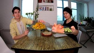 ХУ ИЗ ОН ДЬЮТИ ТУДЭЙ Тест по английскому, тосты с вареньем из киви и чесноком, имбирный лимонад