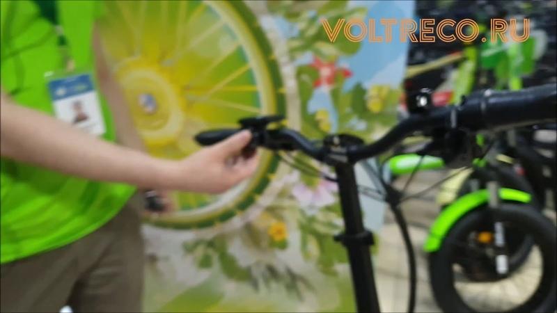 Электровелосипед Фэтбайк Eltreco TT Max двухподвес 20x4.0 Новинка 2020 Обзор Voltreco.ru