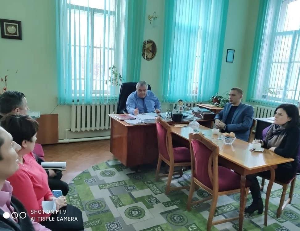 В администрации Петровского района прошла рабочая встреча с представителями Регионального оператора по обращению с ТКО