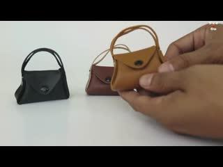 DIY Realistic Miniature Bags for Doll - Barbie bag