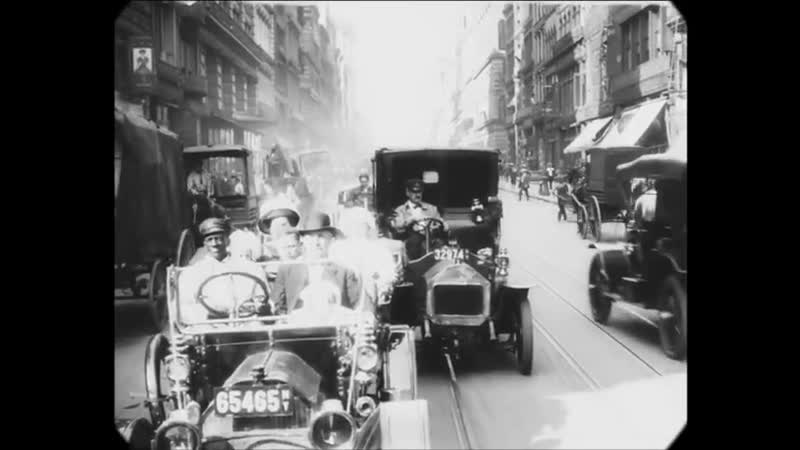 1911 - A Trip Through New York City (speed corrected w added sound)