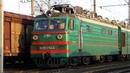 Прибытие графитти-поезда! ВЛ80К-144 с грузовым поездом прибывает на станцию Святошино