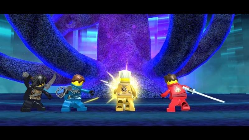 Lego Ninjago Nindroids PS Vita 3DS Overlord Rising Final Boss Fight