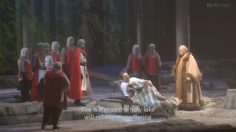 Richard Wagner Parsifal Парсифаль Блумингтон 2019