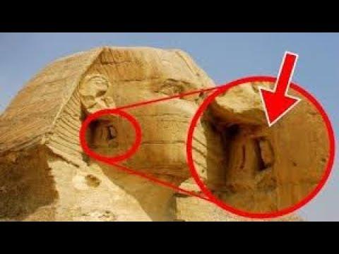 СФИНКС.Туристы смотрели на это, открыв рты.Очевидцы успели сделать снять на телефон.Что там внутри