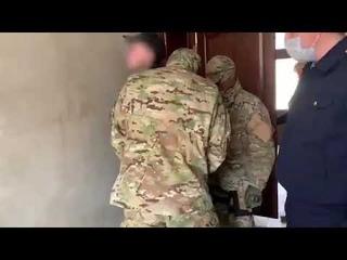 Задержание подозреваемых в организации экстремистского сообщества в Краснодарском крае. Кадры СК