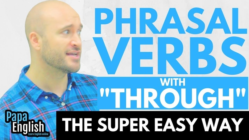 How many meanings of GO THROUGH!?!? - Phrasal verbs with Through