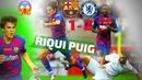 Riqui Puig vs Chelsea / Что творил Рики Пуч против Челси 😱 / Барселона - Челси 1-2