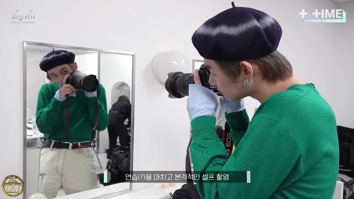 [Golden Closet] [T:TIME] YEONJUN hope to get closer the camera [RUS SUB]