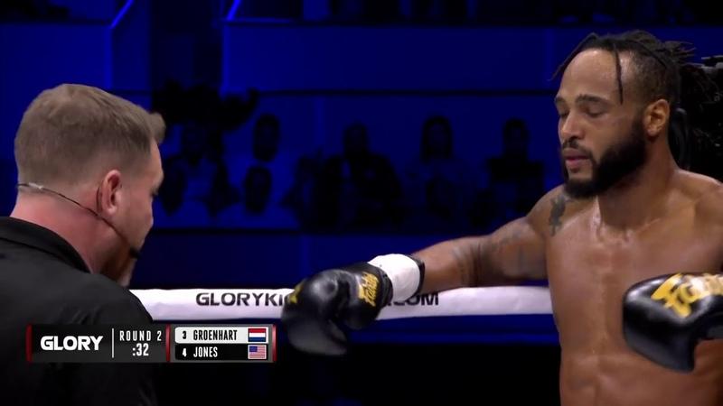 Knockout! Murthel Groenhart stops Troy Jones to win Interim Welterweight Championship