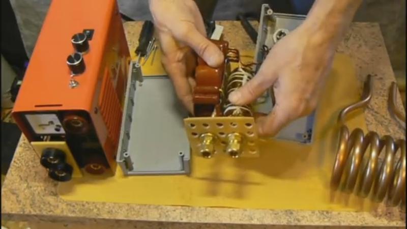 СВАРКА ИНДУКЦИОННЫЙ НАГРЕВАТЕЛЬ. ПОДРОБНО. Как сделать. Универсальный инструмент для мастерской.