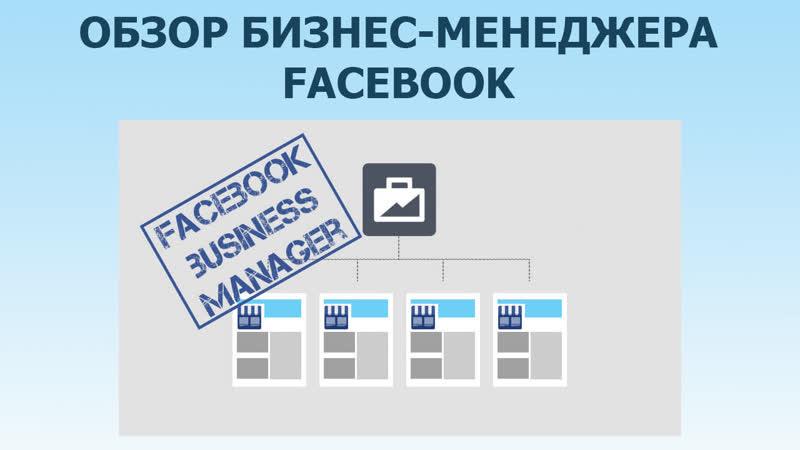 Обзор бизнес менеджера Facebook