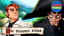 TREASURE ISLAND episode 1 THE MAP pirate cartoon for kids Pirate story