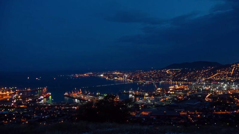 Новороссийск таймлапс цемесская бухта