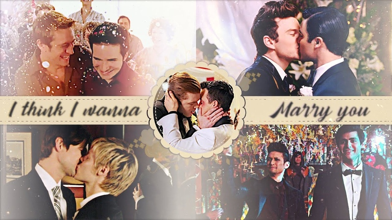 Multigay - marry you [gallavich malec klaine qaf]
