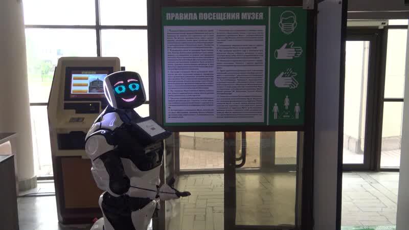 Берегите себя и будьте здоровы Акинфий знакомит с новыми правилами посещения музея