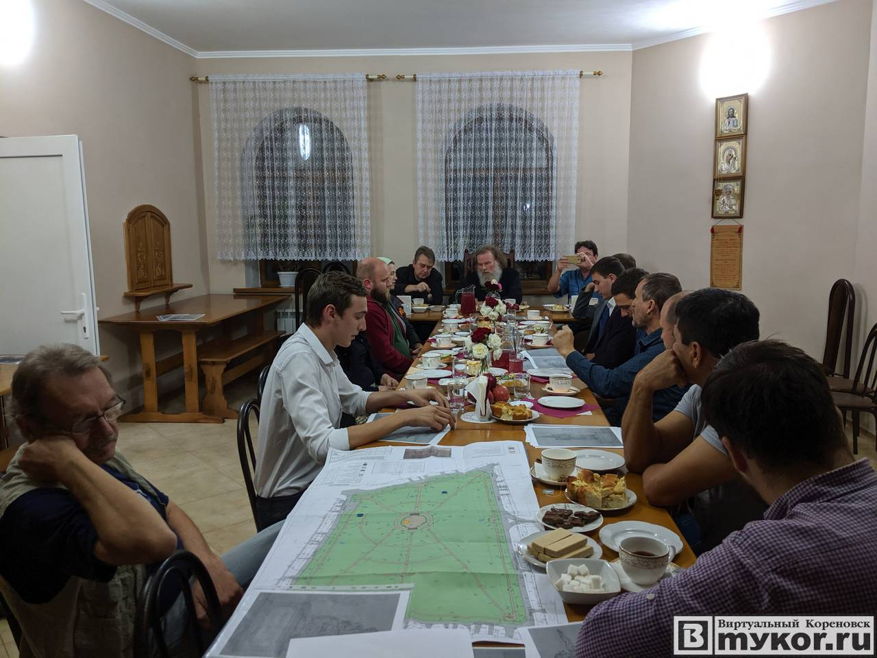 Заседание контактной группы по проекту сквера Вечной памяти в Кореновске