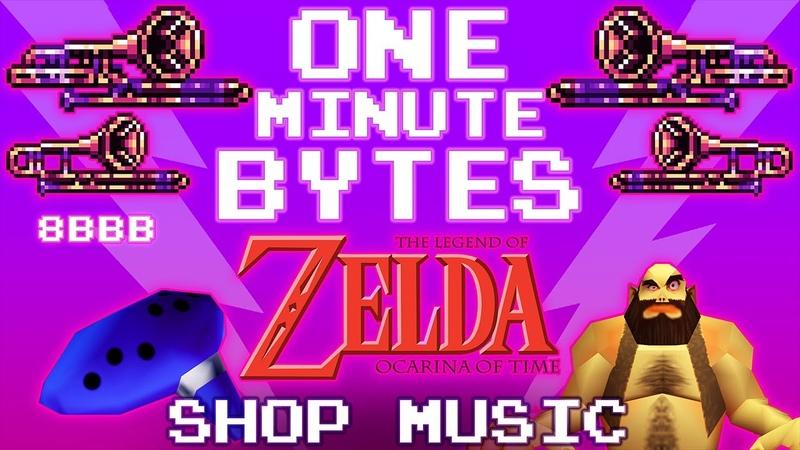 Ocarina of Time Shop Music - One Minute Bytes 1 (The 8-Bit Big Band)