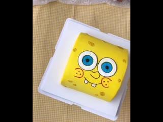 """Как сделать торт """"Губка Боб"""". Самый простой способ!! / Наша группа во ВКонтакте: """"ULTRACAKES""""."""