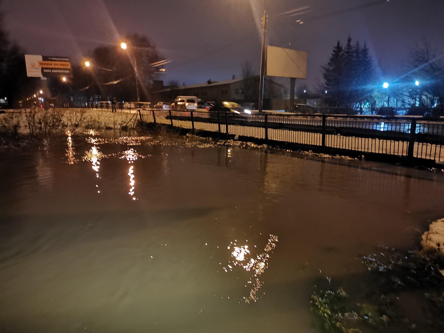 наводнение в городе вологда фото