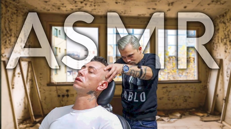 ASMR INSTANT SLEEP WITH ASMR BARBER MASSAGE THE VIP ROOM
